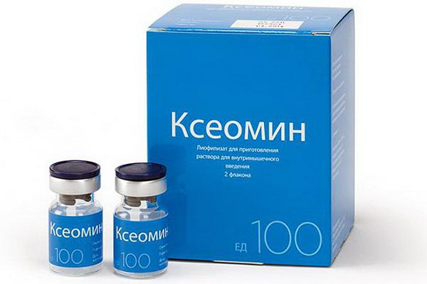Немецкий препарат ботулотоксина - Ксеомин