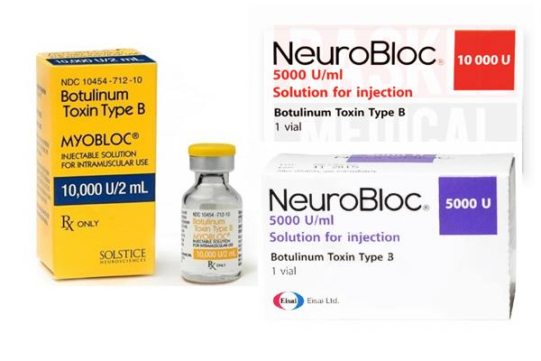 Миоблок, или Нейроблок (для стран Европы) - препарат на основе ботулотоксина типа В