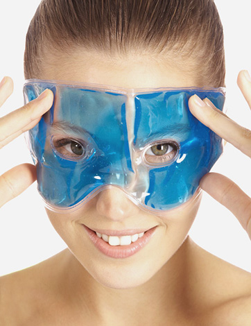 Охлаждающая маска перед инъекционными процедурами