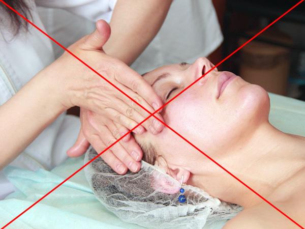 Запрет на проведение массажа лица после ботулинотерапии