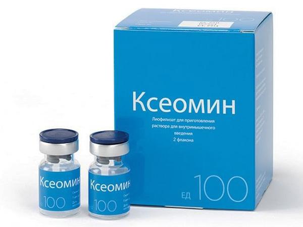 Ксеомин - препарат ботулотоксина