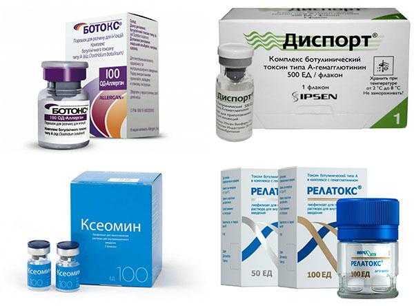Препараты для ботулинотерапии