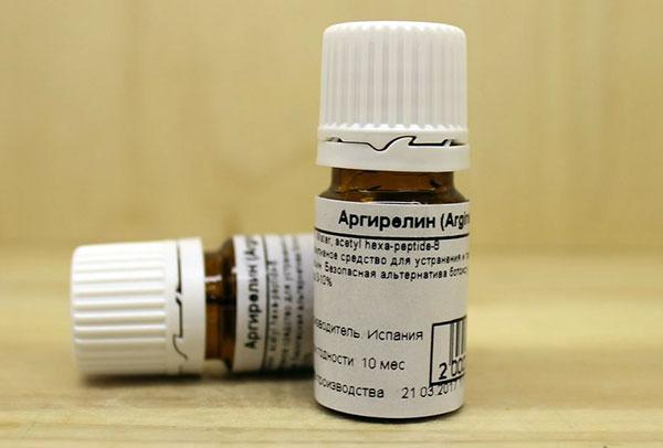 Аргирелин - белок миорелаксант