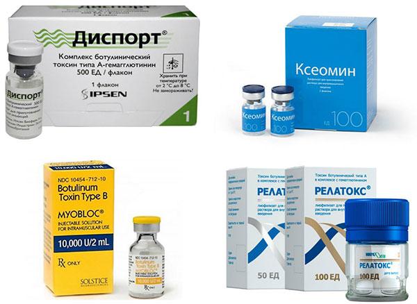 Препараты ботулотоксина